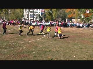 Настоящий футбол показали школьники СОШ №18