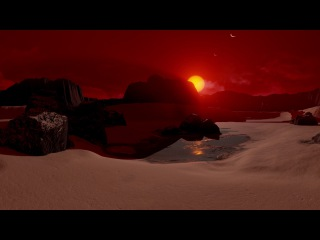 NASA VR: On the Surface of Planet TRAPPIST-1d (360 view) TRAPPIST TRAPPIST_1 TRAPPIST1 NASA Space Earth SV_Space