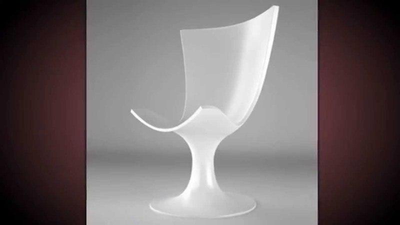 Необычные дизайнерские стулья — в форме бокала с шампанским!