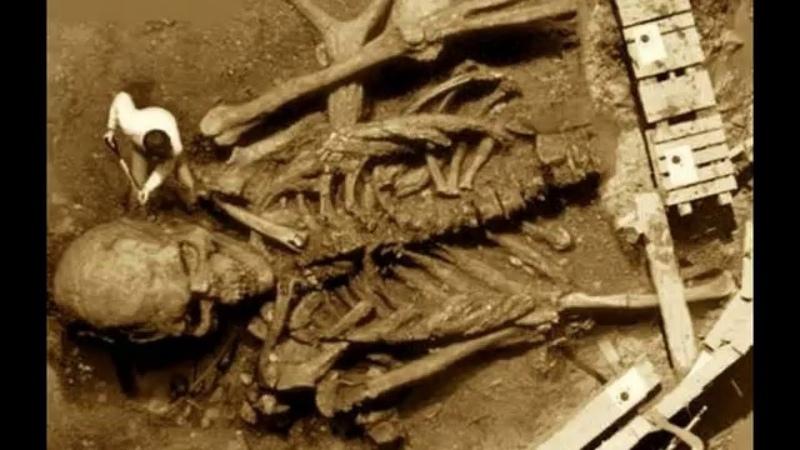 Обнаружено ЧЕЛОВЕКОПОДОБНОЕ существо ростом 15 метр. Тайна индийских великанов!