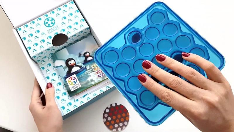 Обзор Игра-головоломка Bondibon Мини пингвины 6 от магазина Модный Карапуз