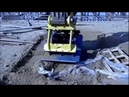 BEIYI hydraulic vibro compactor BYKC03/06/08/10 plate compactor