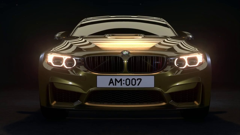 Unreal Engine Cinematic Video BMW M4 Demo Reel