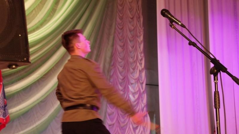 Кирилл Ушаков на казачьем фестивале