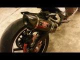 Sound Kawasaki z800 exhaust original & Yoshimura R77