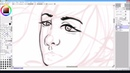 How Im doing lineart in SAI / Как я делаю лайнарт в САИ D