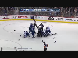 Cedric Paquette vs Ben Hutton December 18th, 2018