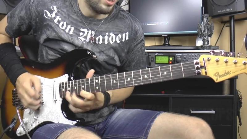 Fender Stratocaster signature Dave Murray SOUND TEST - Neo