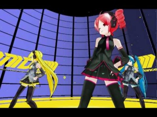 [MMD] Teto, Miku, Neru - Only My Rail gun (L@T)