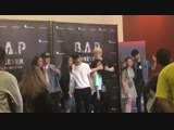 10.11.18 Himchan - B.A.P Photo session with fans @ 2018 B.A.P. North America Tour