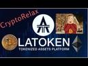 💎Airdrop от биржи LATOKEN 📊 LA Заработок в интернете без вложений bitcoin биткоин криптовалюта