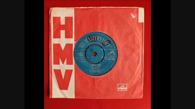 Johnny Kidd with The Michael Sammes Singers I want that