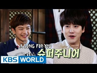 Global Request Show : A Song For You 3 - Ep.14 with Super junior [Preview]