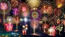 Самые зрелищные Новогодние фейерверки разных стран мира New Years fireworks from around the world