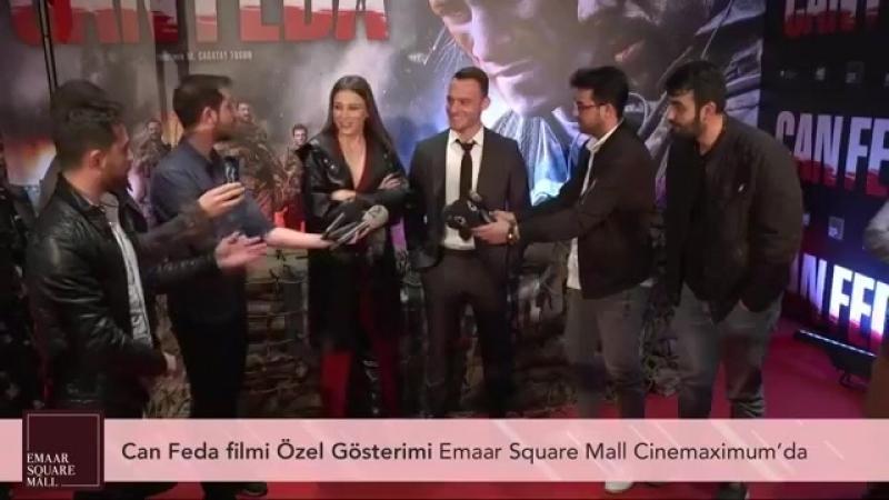 Can Feda Filmi Özel Gösterimi Emaar Square Mall Cinemaximumda