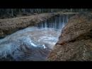 Отводим воду из котлована