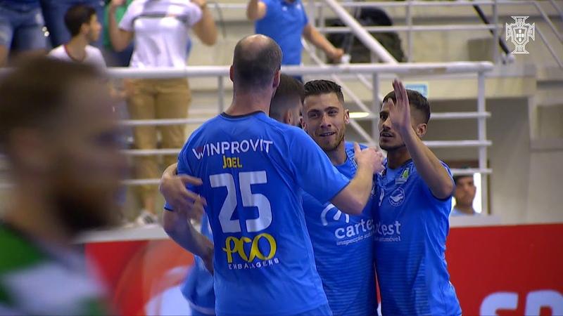 Meia final Liga Sport Zone: Modicus 5-4 Sporting