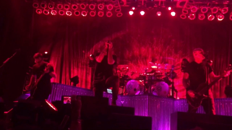 Breaking Benjamin Red Cold River live at Myrtle Beach 2018