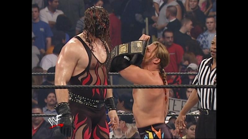 WWF Smack Down 7th March 2002 - Non Title Match - Chris Jericho w/Stephanie McMahon vs Kane