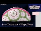Taco-Tasche mit 2-Wege-Zipper N