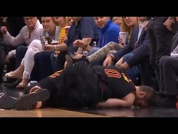 Kevin Love dangerous fall / Cavaliers vs Celtics Game 4