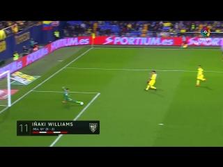 Испания ЛаЛига  Вильярреал - Атлетик 1:3 обзор  HD