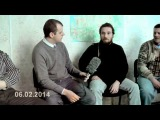 06.02.2014 Севастополь. Пресс-конференция с журналистами из Нью-Йорка на тему Майдана
