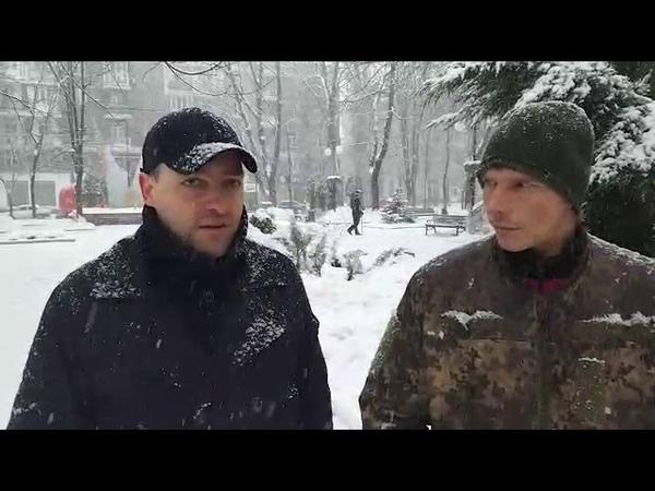 В ДНР армия России В центре Донецка пленный ВСУшник поговорил со спасённым из лап СБУ одесситом