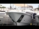 2018 Azimut 35 Metri Super Yacht Deck and Interior Walkaround 2018 Cannes Yachting Festival