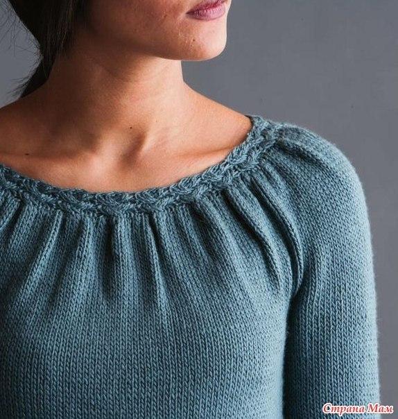 Блуза от дизайнера Katya Frankel. (7 фото) - картинка