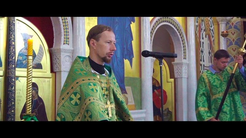 Проповедь о Николая Головинова на престольный праздник