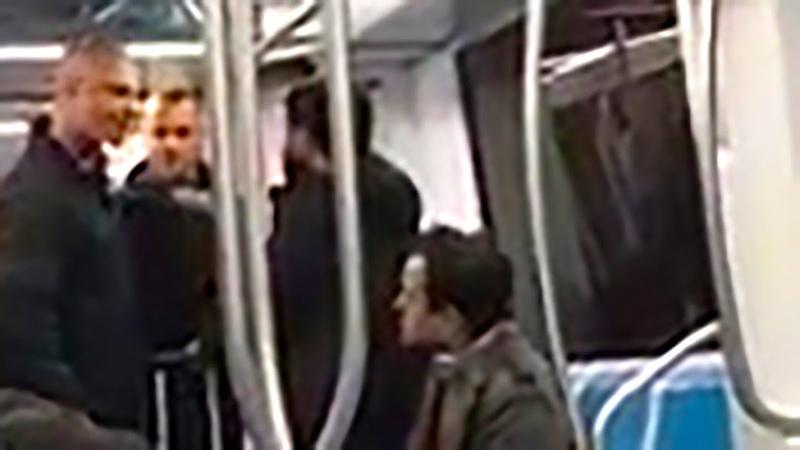1 ноября 2018. Рим. Украинские гитлеровцы из фашистской Украины избивают темнокожих итальянцев
