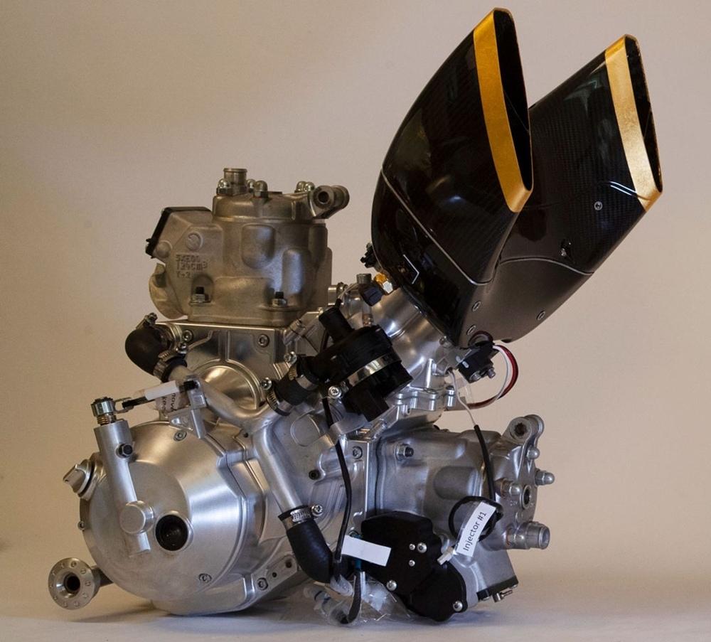 Langen Motorcycles 2-Stroke - высокопроизводительный 2-тактный V-твин
