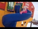 Гуляем на детской площадке в виде корабля у цирка