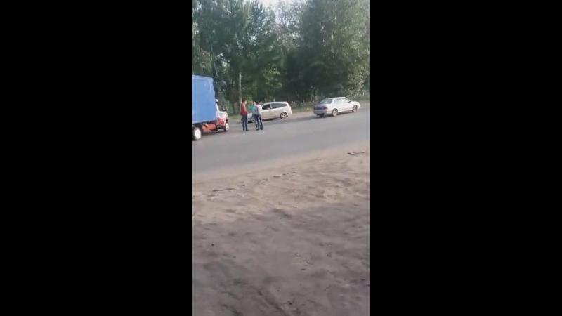 ДТП на 22 Апреля, Омск (16.08.2018)
