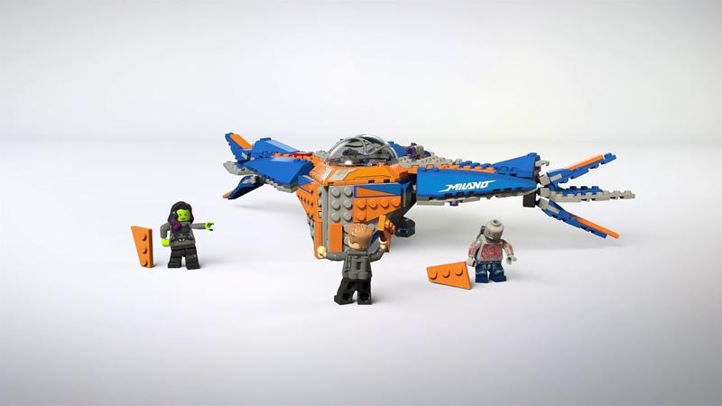 Конструктор LEGO Marvel Super Heroes 76081 Милано против Абелиска
