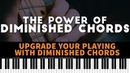 The POWER of Diminished Chords Passing Tones Chord Substitutions Melodic Fills