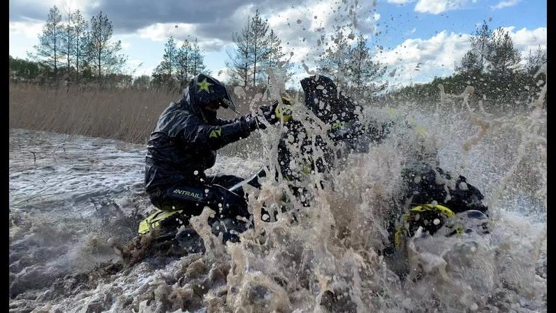 Обзор ATV Мировой OFF-ROAD. Трассы для Квадроциклов Латвии!