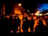 Разгон Майдана в Днепропетровске титушками 26 01 14