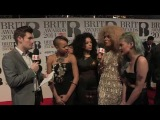 Neon Jungle and Oli White: BRITs 2014 Red Carpet | 4Music
