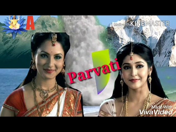 Parvati Avatars By Pooja Bose Vs sonarika from DKDM Serial with song mix and Theme...