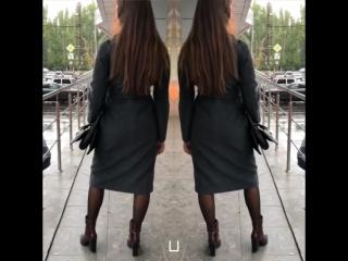 Пальто - халат серое осень 2018 🍂🍁