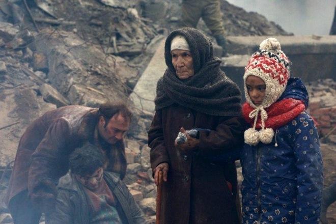 Начались съемки фильма о землетрясении в Спитаке