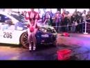 Erotic dancing beautiful girls Car Wash