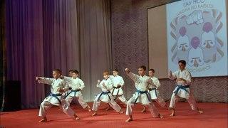 «Спортивная школа по каратэ» - Показательные выступления на Фестивале Айкидо, Новосибирск
