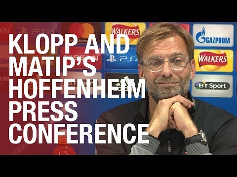 The Anfield factor, Hoffenheim and Coutinho | Klopp and Matip's press conference