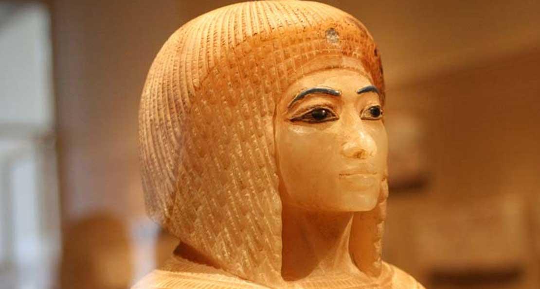 Прически египтян