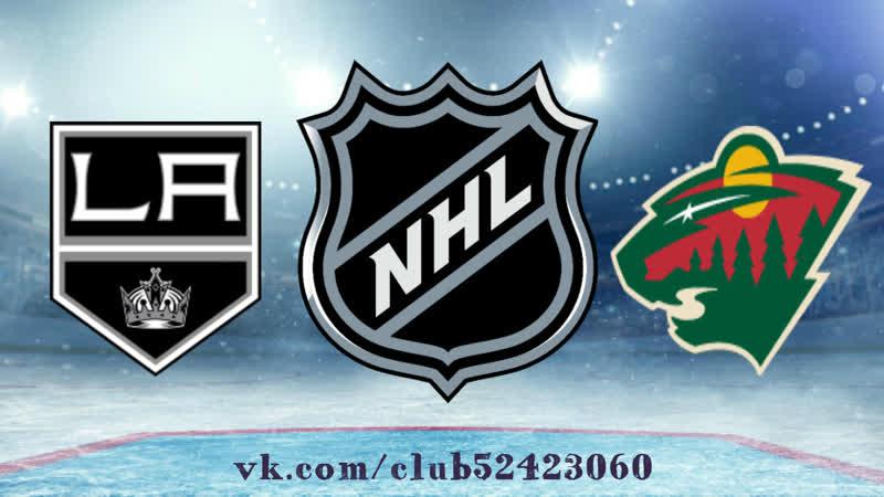 Los Angeles Kings vs Minnesota Wild   15.01.2019   NHL Regular Season 2018-2019