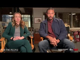 The ForThePeopleABC cast has a special message for you!