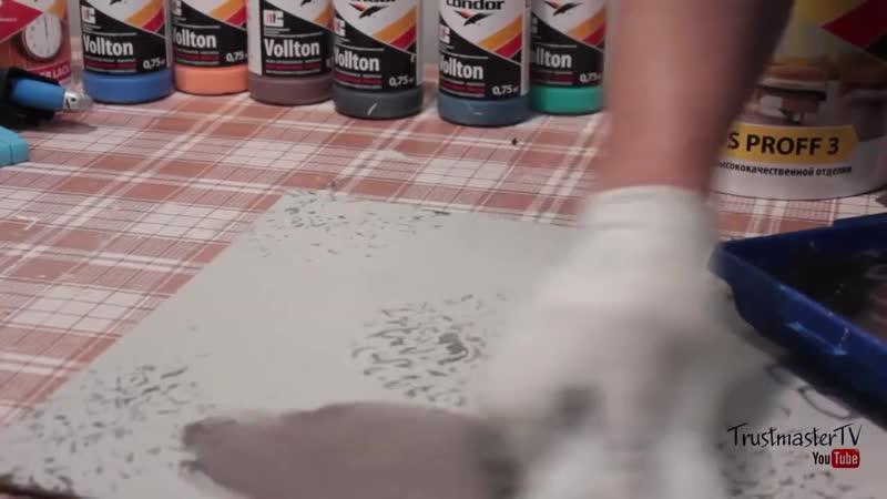 Идеи декоративной штукатурки - Маленькие хитрости Домашний лайфхак